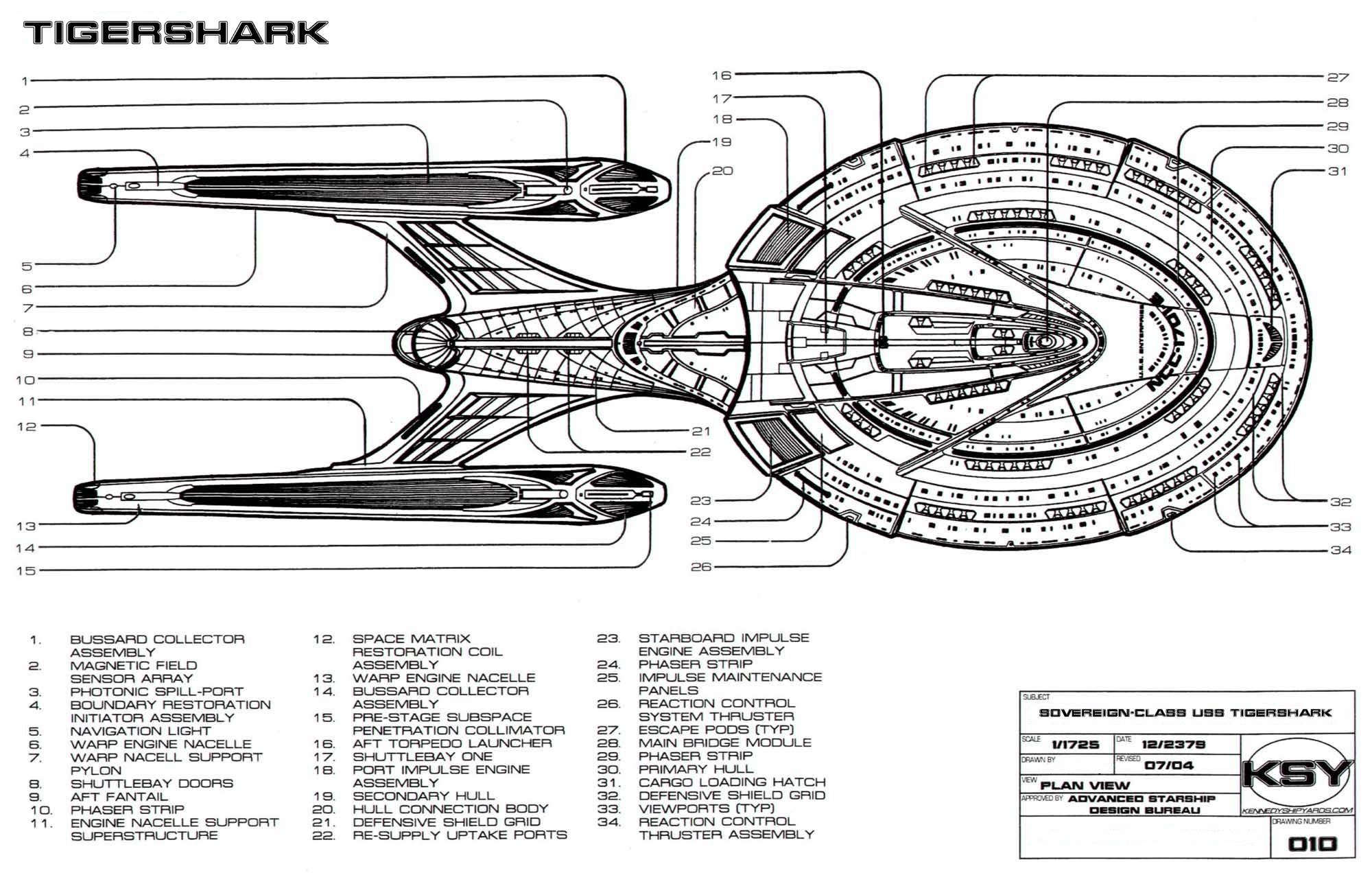 Uss Tigershark Schematics Amp Overview