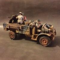 LRDG Ford with Bofors AT Gun