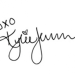 Kylie Jenner signature