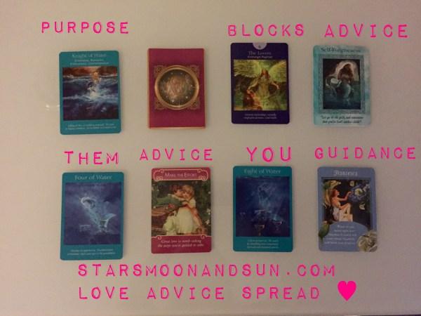 Love Advice Spread