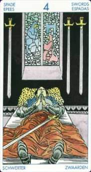 four of swords picture
