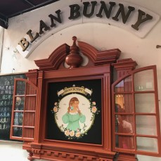 my mom spent hours inside Blan Bunny