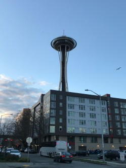 good view of the Space Needle!