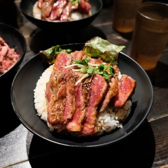 and #2 - Slice Steak Bowl (Jimin and Jungkook ordered this)
