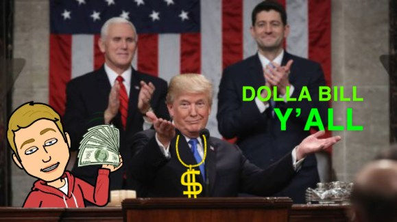 "SOTU Prop Bets: Check Out This Free Money Waterfall that isn't ""Fake"
