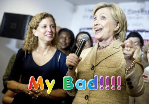 hillary and dws
