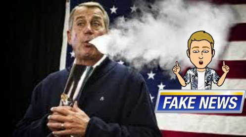 boehner bong fake news