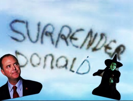 surrender donald