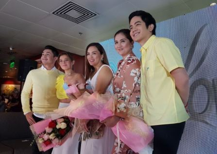 The cast of The Greatest Love