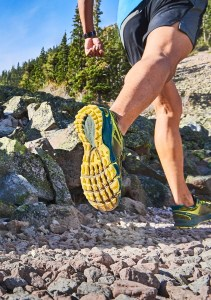With sticky, skeleton-like lugs, you're sure to have good grip while on the trail with Merrell's Agility Peak Flex