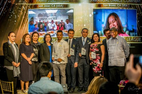 Honoring the finalists for the Organization Heroes Category of the 2017 North America Gawad Geny Lopez Bayaning Pilipino