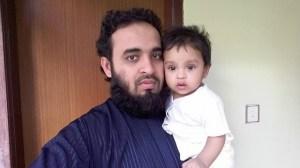 Azhari and her daughter