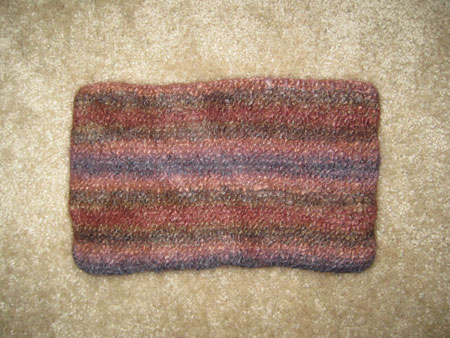 SWS Swatch - Felted