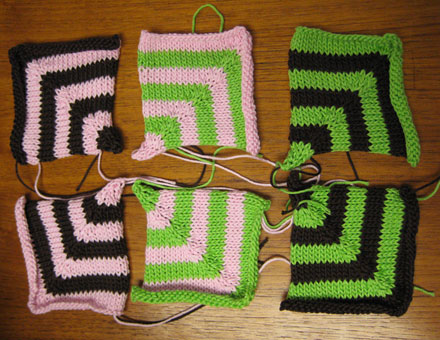 Finished Mitered Squares