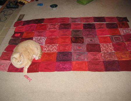 Jesse & the blanket