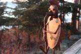 Sunkissed sax playing birdman