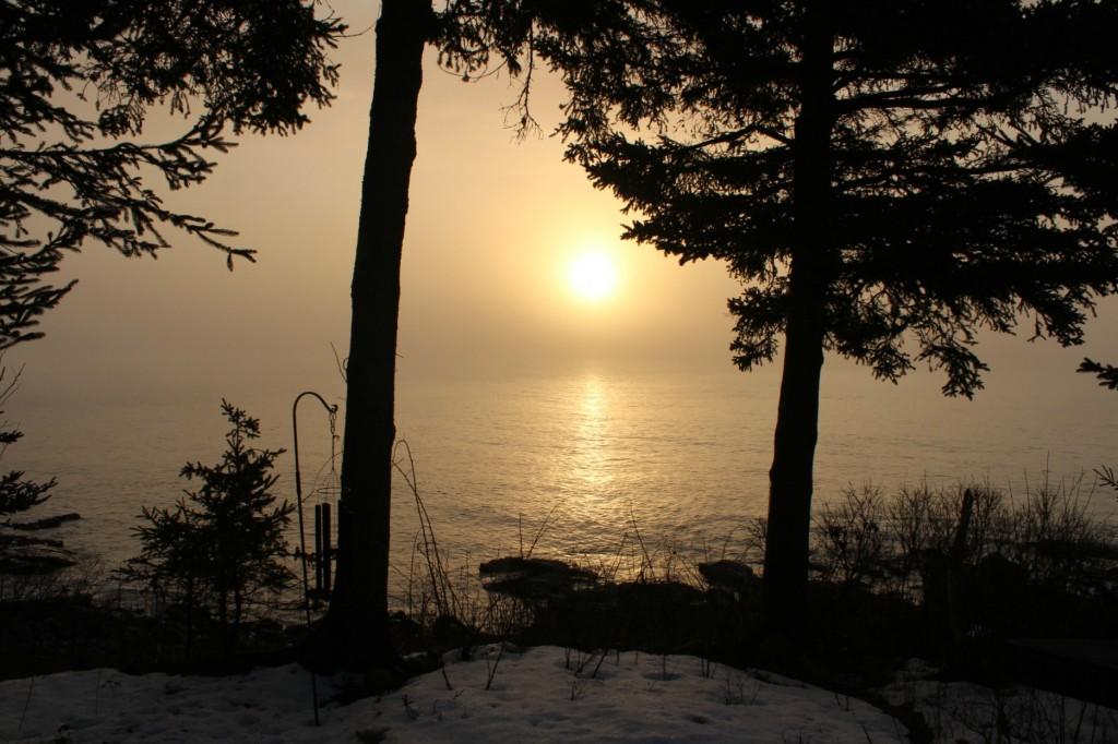 Shrouded sunrise February 23 2017
