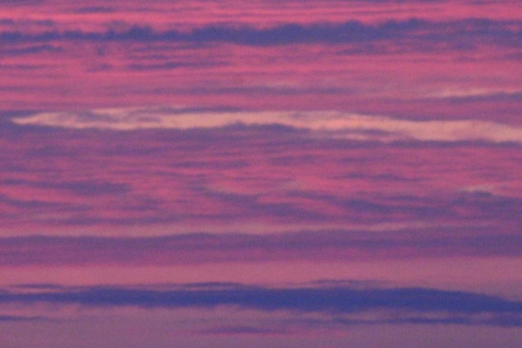 Moiré skies and waves