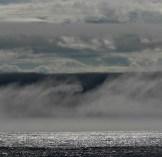Fog rolls in