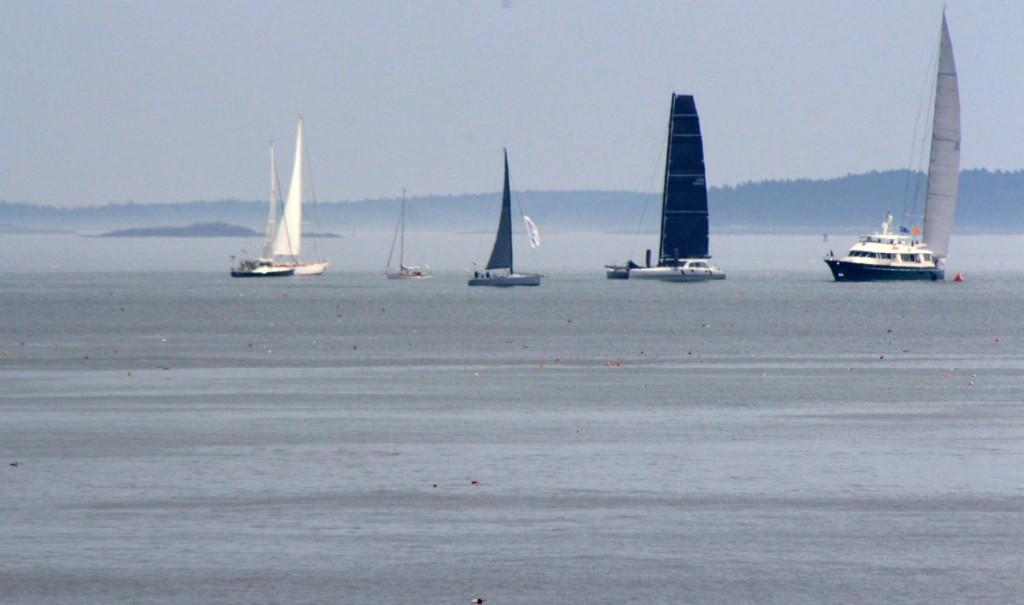 And the sails came back out to play!