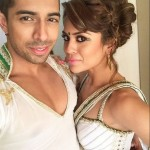 Sana Saeed with Dipesh Patel