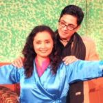 Aasif Sheikh doing a threatre play