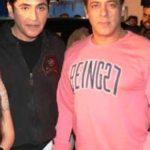 Aasif Sheikh with Salman Khan