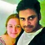 Pawan Kalyan with Anna Lezhneva