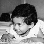 Hina Khan childhood photo