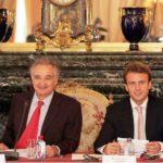 Emmanuel Macron With Jacques Attali