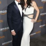 Jeff Bezos With His Wife