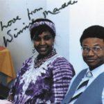 Winnie Mandela signature