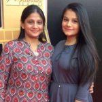 Hetal Gada with her mother