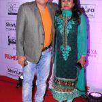 Manoj Joshi With His Wife