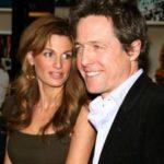 Gemima Goldsmith with her ex-boyfriend Hugh Grante