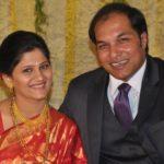 Jyoti Malshe with her husband
