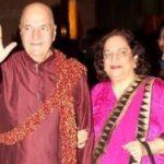 Krishna Kapoor's sister and wife of Prem Chopra