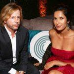 Padma Lakshmi and David Spade