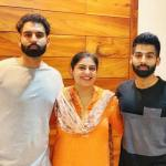 Parmish Verma with his sister and brother