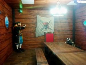 piracki pokój - dekoracje artystyczne