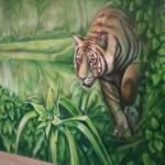 malunek tygrys