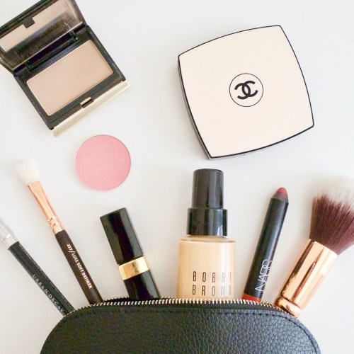 My Minimalist Makeup Bag