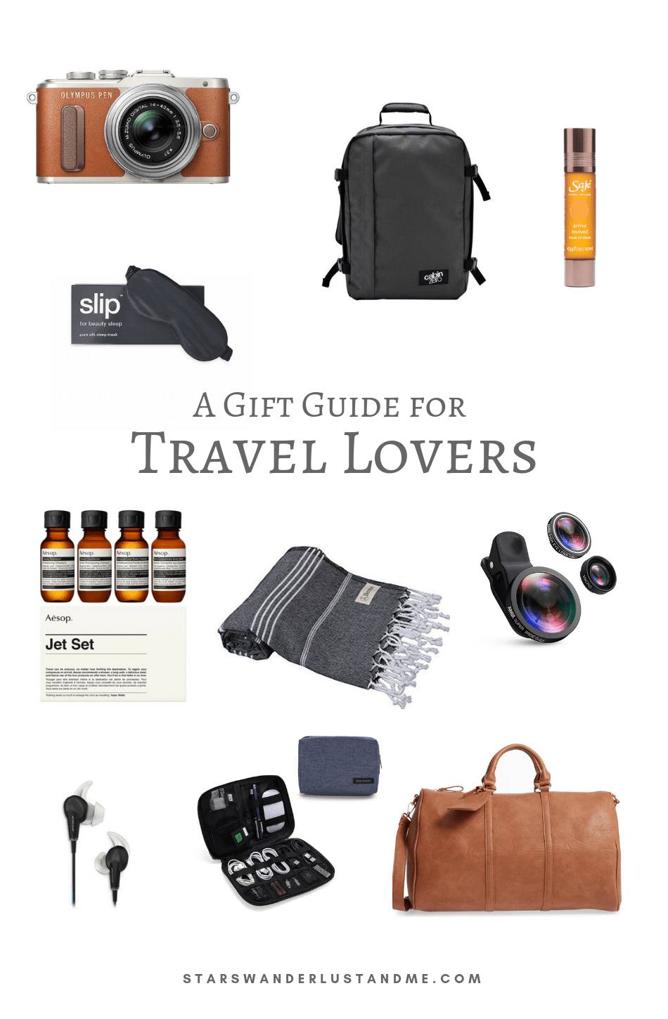 Travel lover gift guide 2018
