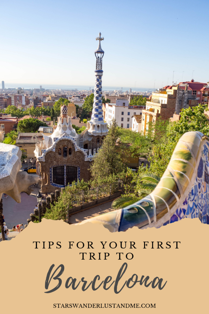 First time Barcelona Guide pinterest
