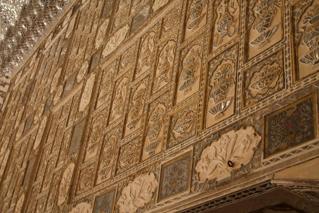 palace of mirrors amber fort agra