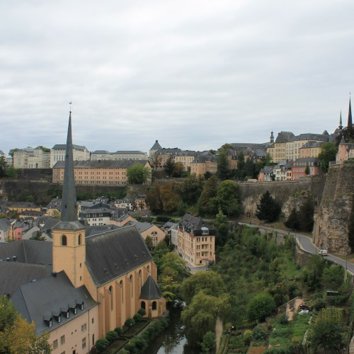 A walking tour of Luxembourg
