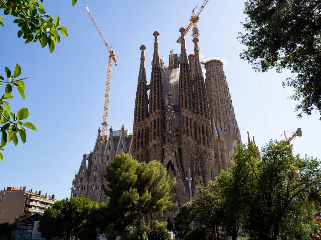 Sagrada Familia Nativity Facade Barcelona