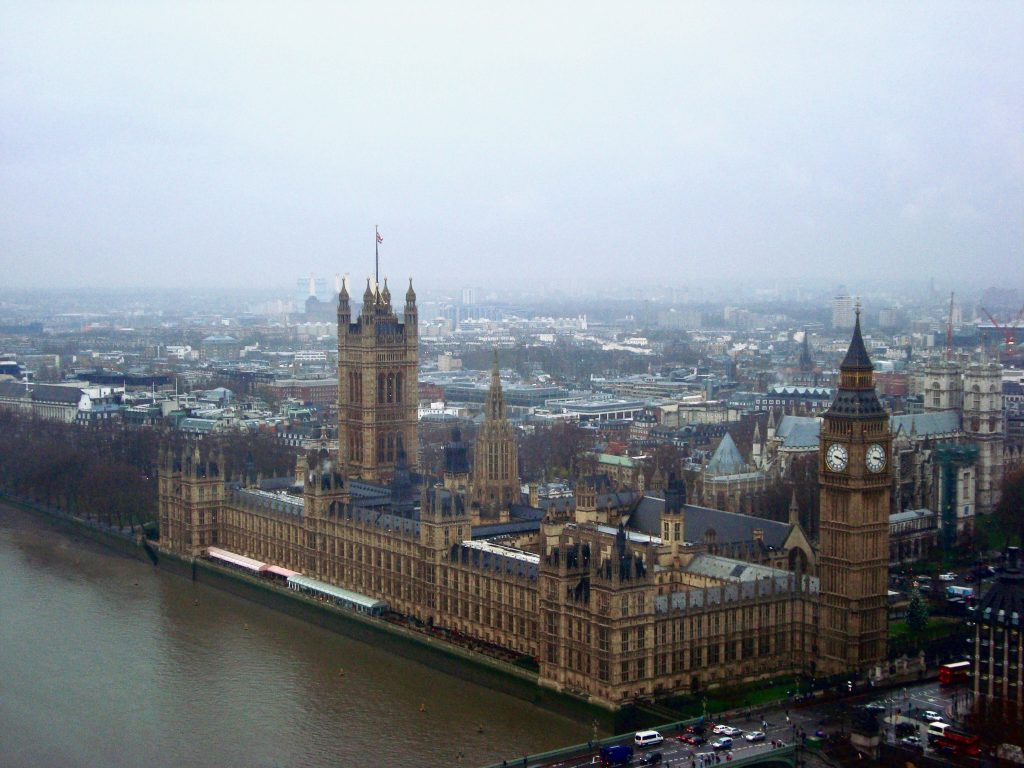 london travel guide houses of parliament