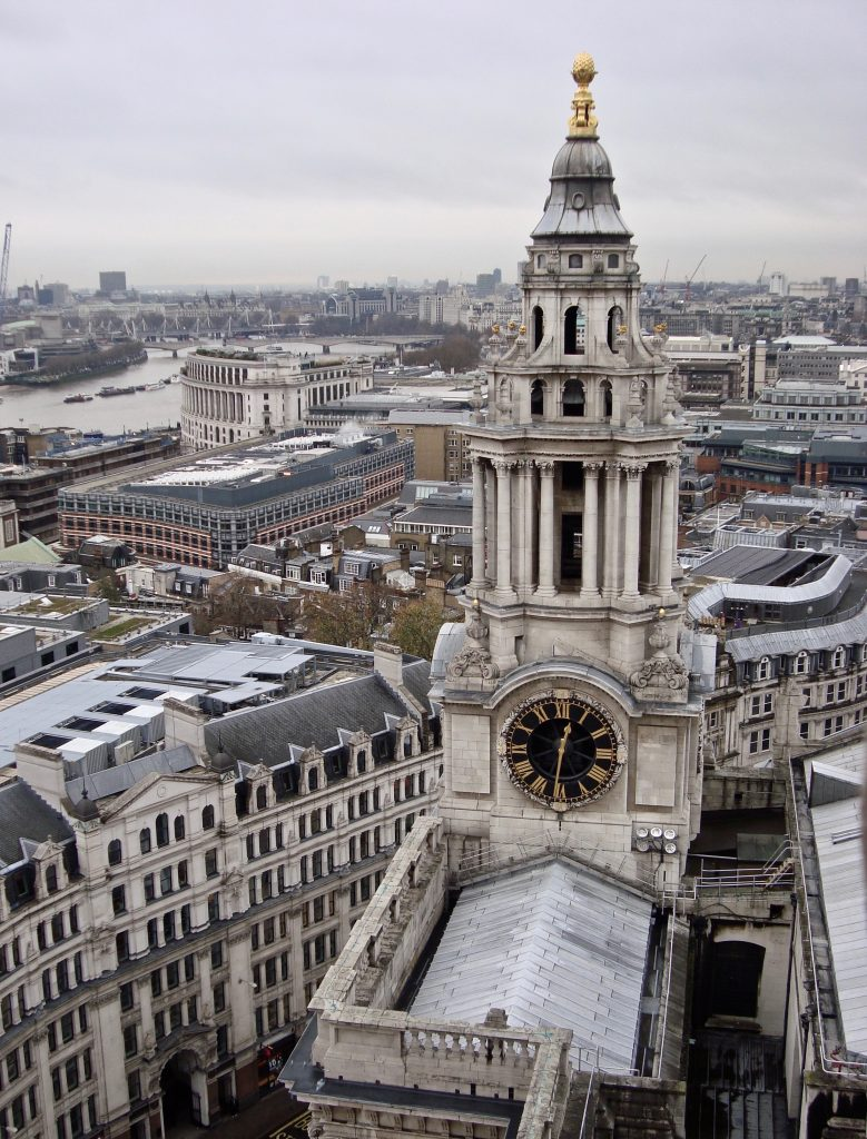 budget travel guide London view from St Pauls
