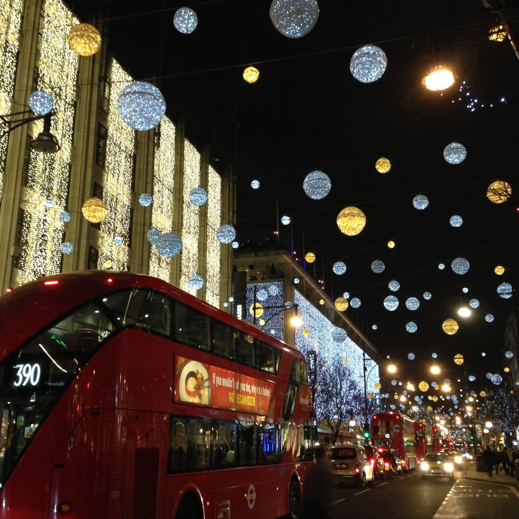 Oxford street london travel guide